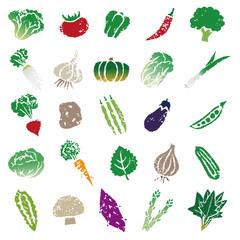 野菜イラストセット アイコン