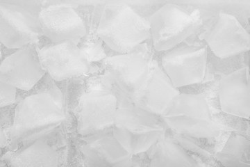 Ice cubes detail