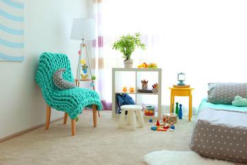 Beautiful children room interior