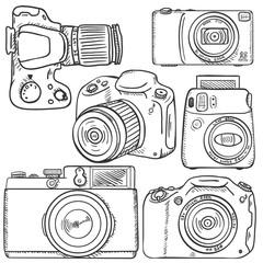 Vector Set of Sketch Cameras