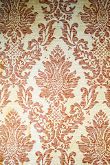 Vintage patterned fabric