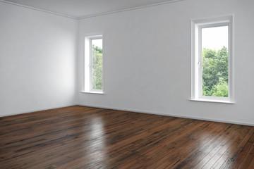 Eine leerstehende Wohnung