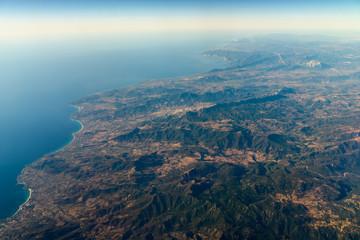 High Altitude Photo Of Planet Earth Horizon