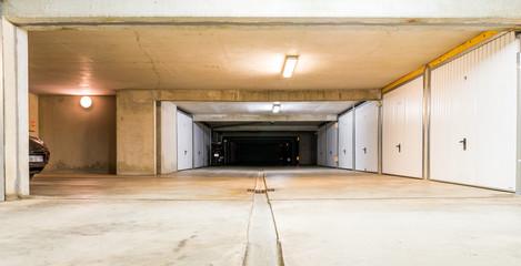 Garages et box en sous-sol
