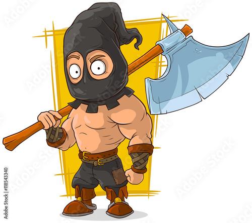 medieval executioner cartoons - 450×418