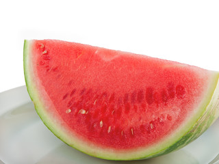 a slice of watermelon