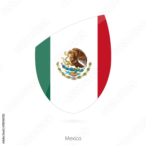 """Flag Of Mexico. Mexican Rugby Flag."" Stock Image And"