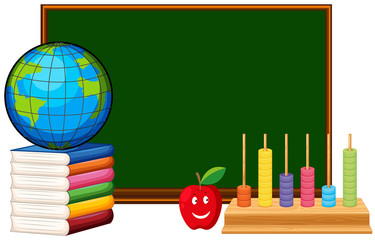Blackboard and educational materials