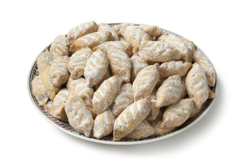 Wall Mural - Traditional Moroccan makrout, date cookies