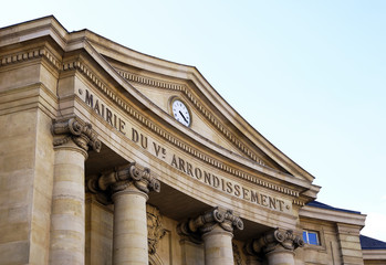 City hall of the 5th arrondissement of Paris