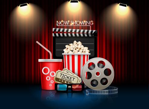cinema movie theater object