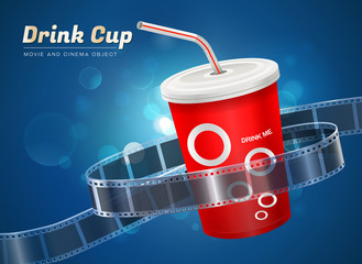 drink cup movie cinema object