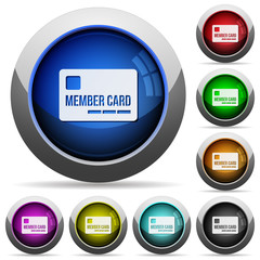 Member card button set