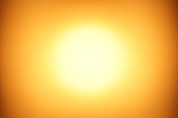Sunlight photography with defocused technique