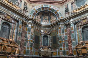 La capilla de los Medici de Florencia Italia