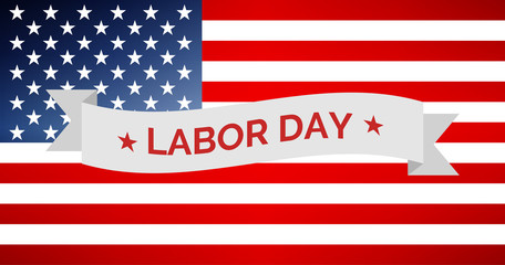 Labor Day USA vector illustration
