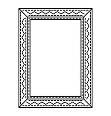 elegant beautiful frame isolated icon