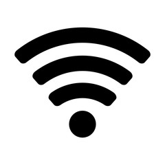 wifi signal wave connection network web technology internet vector illustration