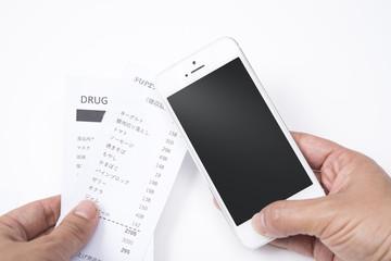 スマートフォンで家計管理