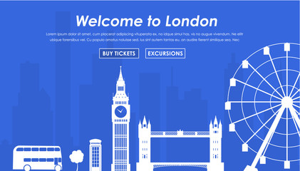 Welcome to London banner