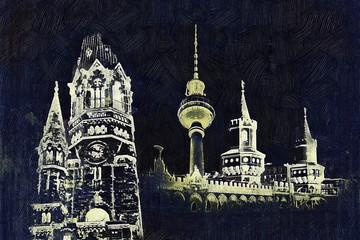 Berlin art design illustration