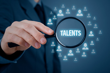 Talented managers and business persons