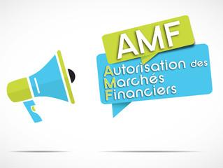 mégaphone : AMF