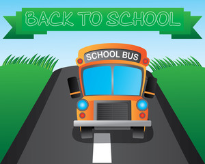 A school bus is a type of bus used for student transport: carrying students to and from school, home, and school events