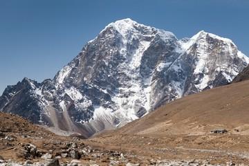 Fototapete - Summit mt. Lobuche, Sagarmatha National Park, Solu Khumbu, Nepal