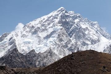 Fototapete - Summit mt. Nuptse, Sagarmatha National Park, Solu Khumbu, Nepal