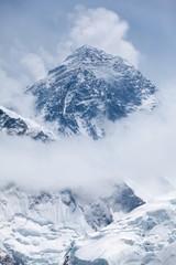 Fototapete - View of mt. Eversst from Kala Patthar, Solu Khumbu, Nepal