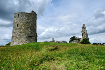 Hadleigh Castle ruins Essex.
