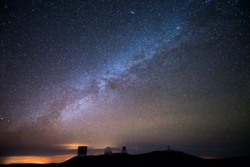 Stars over Hawaii