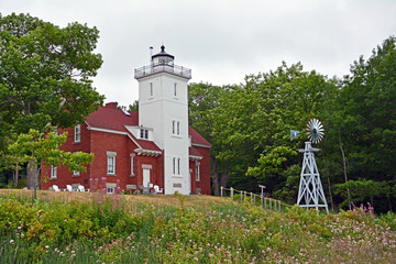 Forty Mile Point Lighthouse, Michigan