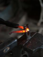 Hot forging part