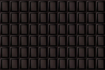 Vector background of dark chocolate bar.