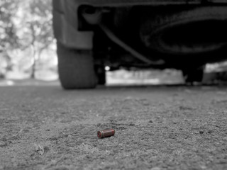 Bullet On Ground