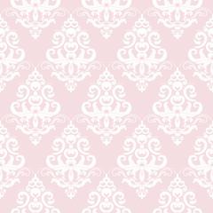 Damask seamless pattern background.