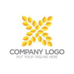 Leaf Flower Logo icon