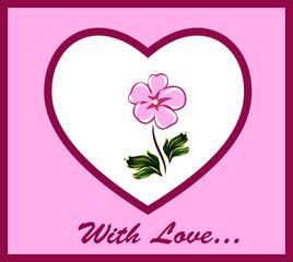 Greeting card valentines