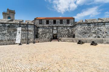 Eingang zum Castillo de la Real Fuerza in Havanna, Kuba
