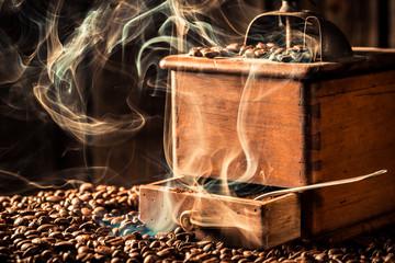 Aroma of roasted coffee grains