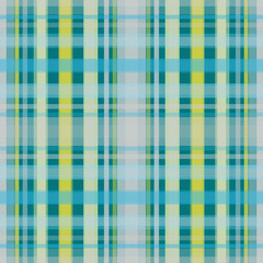 Seamless retro textile tartan checkered plaid pattern print