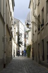 Por las calles de Montmartre