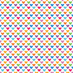 Bright colorful seamless pattern for baby style