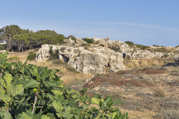 Tombs of the Kings in Paphos on Cyprus