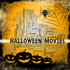 Halloween Movies Shows Horror Films And Cinemas