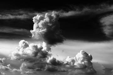 Beautiful Clouds in cloudscape