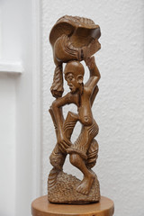 sculpture africaine en bois