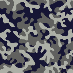 camo military in blue gray color